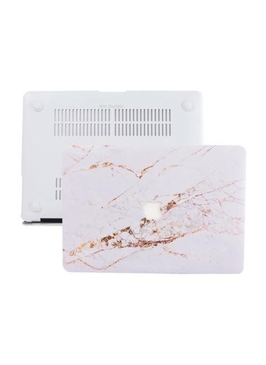 Mcstorey MacBook Air A1369 A1466 13 inç Kılıf Sert Kapak Koruyucu Hard ıncase Mermer 10-39-1513 Renksiz